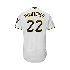 Andrew McCutchen Autographed Pirates Majestic Flex Base Authentic Jersey MLB