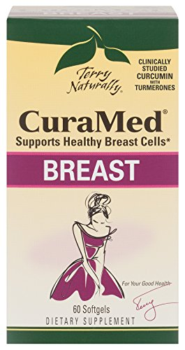 Healthy Breast - Terry Naturally CuraMed Breast - Supports Healthy Breast Cells - 60 Softgels