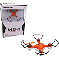 Owill 2.4GHZ Mini 4CH 6-axis Gyro LED Lights 4D Flips Drone RC Quadcopter Headless Mode/ Great Gift For Kids (Orange)