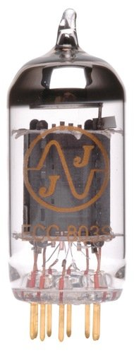 JJ ECC803 / 12AX7 Long Plate Gold Pin Vacuum Tube by JJ Electronic