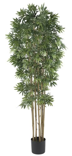 Nearly Natural 5045-NT Bamboo Japanica Silk Tree, 6-Feet, Natural by Nearly Natural