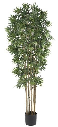 Nearly Natural 5045-NT Bamboo Japanica Silk Tree, 6-Feet, Natural