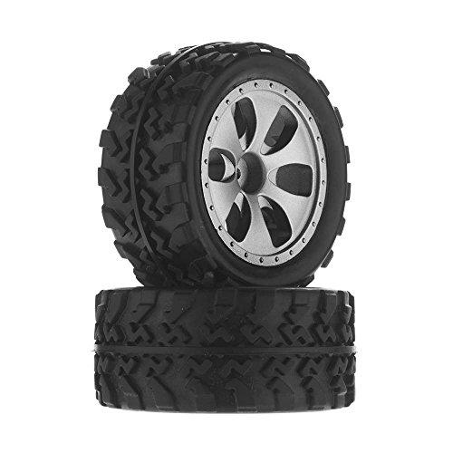 Tires Mt Monster Truck (Dromida  Wheel/Tire Assembled MT 4.18 (2))