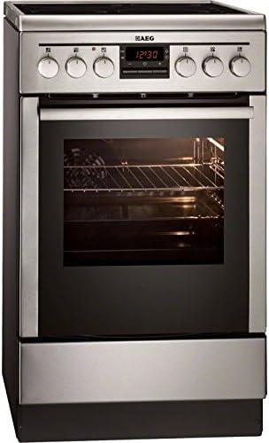 AEG 47795IQ-MN - Cocina (Cocina independiente, Acero inoxidable, Giratorio, Con placa de inducción, Eléctrico, 60 L): Amazon.es: Grandes electrodomésticos