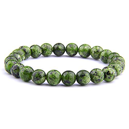 - Tea language Beaded Bracelets for Women Men Fashion Energy Bracelet Elastical Jewelry,7,21cm