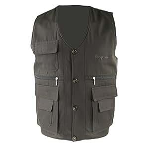 Magideal reversible fly fishing vest for Fishing vest amazon