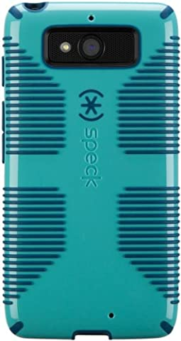 Speck Products Candy Shell Grip Case for Motorola Droid Mini - Pool Blue/Deep Sea Blue (Motorola Droid Mini Speck Case)