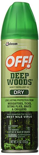 Off  Deep Woods Insect Repellent Viii Dry  4 Ounce  2 Count