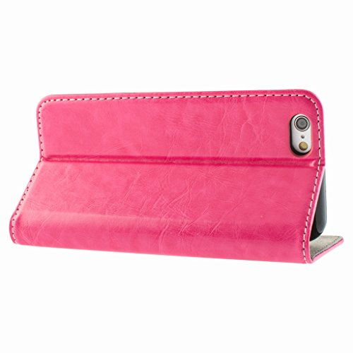 Stunning Style Apple iphone 5 Case cover, Apple iPhone 5 Hot Pink Designer Style Wallet Case Cover