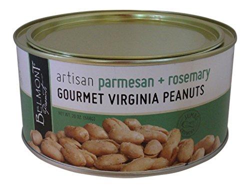 Belmont Peanuts Artisan Gourmet Virginia Peanuts (Parmesan & Rosemary, 20 oz)