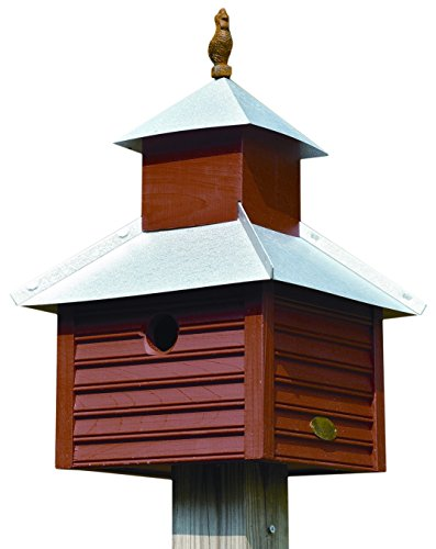 Heartwood 093D Rusty Rooster Decorative Bird House ()