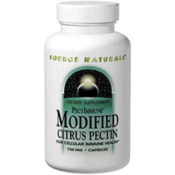 Source Naturals Modified Citrus Pectin, For Cellular Immune Health,120 Capsules