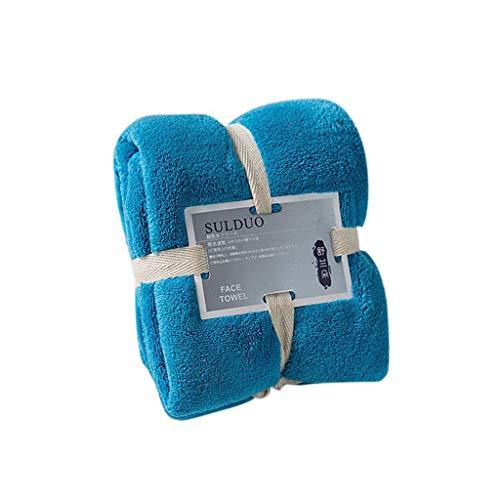 Wabaodan Soft Oversized Extra 100% Pure Ringspun CottoThick Towel Large Bath Towels 36 x 80 cm (4811(E))