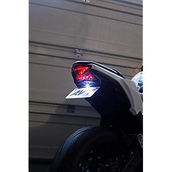 Amazon.com: BSK Motocicleta Z Símbolo LED Luz Trasera Señal ...