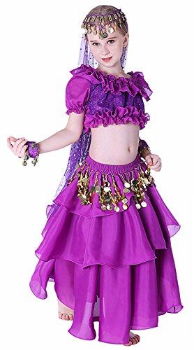 Genie Costume for Girls 14-16 Purple