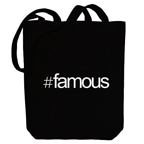 Tote Idakoos Hashtag Hashtag Canvas famous Idakoos Bag Adjectives YqxwP81