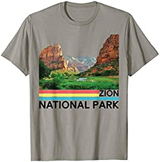 Vintage Zion National Park Retro Mountain T-shirt | Size S - 5XL