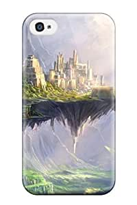 Perfect Fit NQSfwgQ3436spzLn Fortress Fantasy Case For Iphone - 4/4s by icecream design