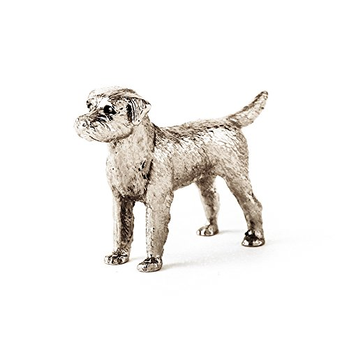 Border Terrier Made in UK Artistic Style Dog Figurine Collection