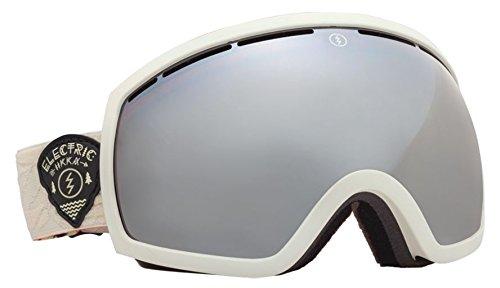 Eg2 Snowboard Electric Goggles (Electric Eg2 Iikka Backstrom White Silver Mirror Snowboard Goggles)