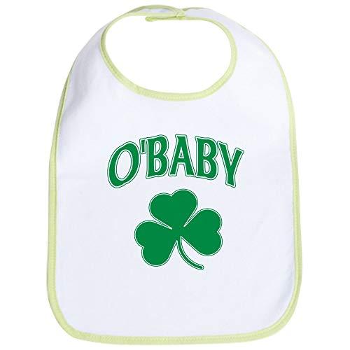 (CafePress Obaby Irish Shamrock Bib Cute Cloth Baby Bib, Toddler Bib)