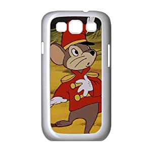 Disney Dumbo Character Timothy Q. Mouse Samsung Galaxy S3 9300 Cell Phone Case White 218y-048083