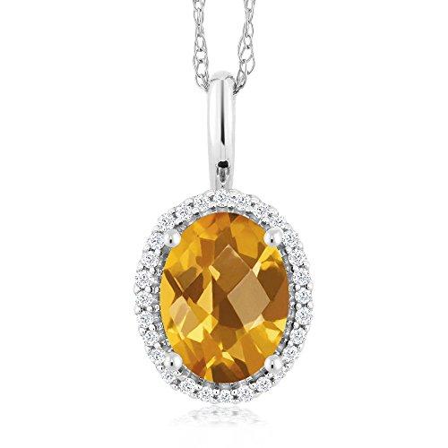 1.25 Ct Citrine Diamond - 3
