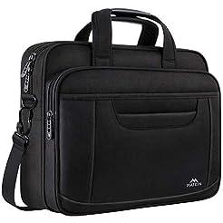 15.6 Inch Laptop Bag, Water Resisatant B...