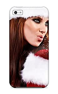 Excellent Design Christmas Beautiful Girls Photos Case Cover For Iphone 5c