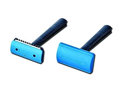 sumbow Holding instrumentos médicos sm70022 – 1d quirúrgico cuchillas de afeitar, sola hoja con peine