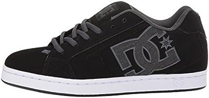 Mens DC Net SE Skate Shoe, Black/Grey