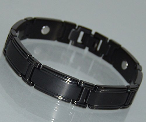 TITANIUM Power Energy Magnet Therapy BRACELET With Strong Magnets (LINK REMOVAL TOOL INCLUDED)- FREE