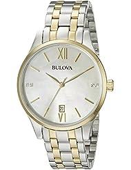 Bulova 98P149 16mm Two Tone Stainless Steel Two Tone Watch Bracelet