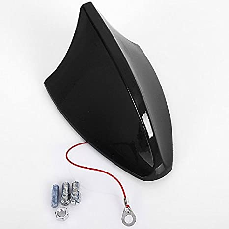 WOLTU Universal Auto Shark Hai Antenne Dachantenne Hochglanz Gr/ün AT7028gn