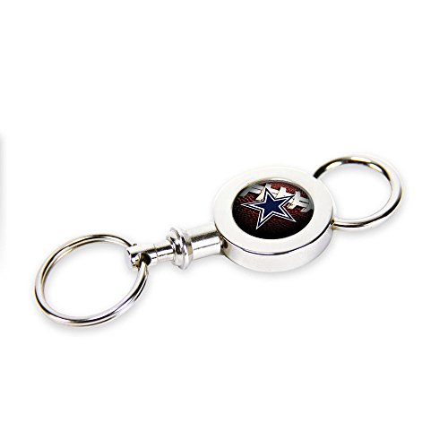 Rico Industries Dallas Quick Release Valet Key Chain