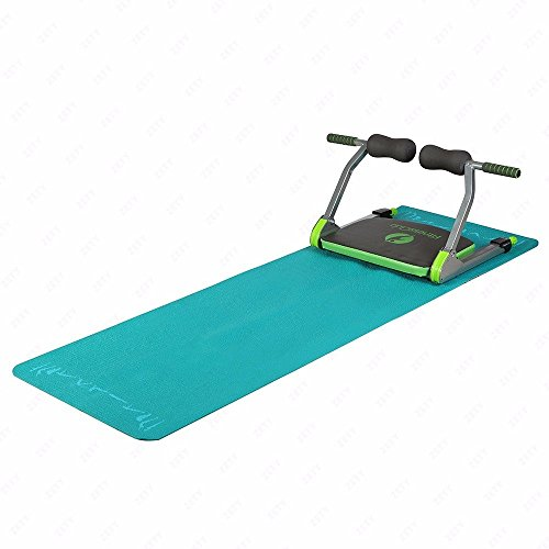 Workout fitness abdominal exercise ab machine total with yoga mat & dvd home - Jim Auckland