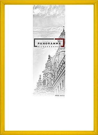 Kunststoff Bilderrahmen Bildformat: 10 x 15 cm Echtglas Platin