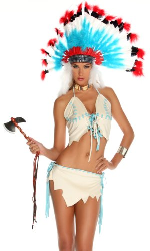 [Tipi Treat Sexy Native American Costume] (Forplay Costumes Indian)