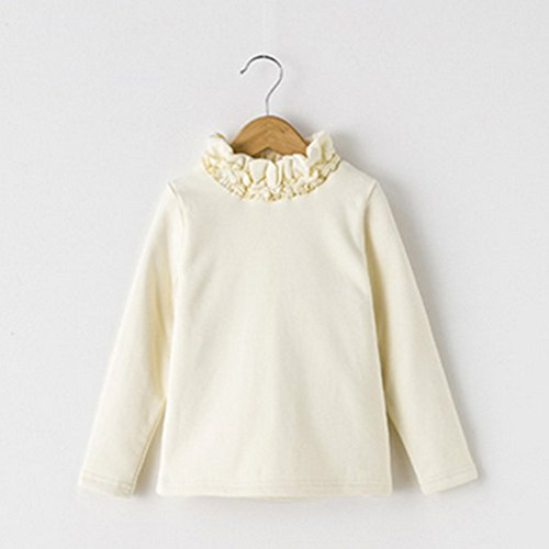 spritechtm-childrens-little-girls-winter-warm-flocking-long-sleeves-threaded-collar-bottoming-shirt-