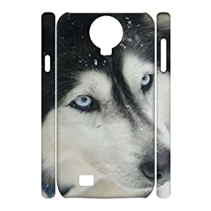 Custom Cover Case with Hard Shell Protection for SamSung Galaxy S4 I9500 3D case with Sled dogs lxa#216173