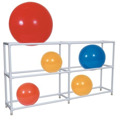 MJM International 7025 Ball Rack, 12 fl oz, 56'' Height x 107'' Length x 19.5'' Width