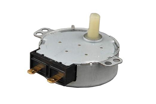 Motor de Plato Rotativo para Microondas 4W/ 220V 5-6 R.P.M ...