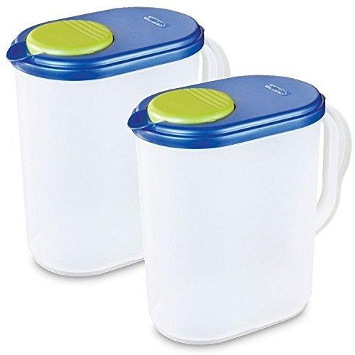 Sterilite Beverage Gallon Pitcher Pack