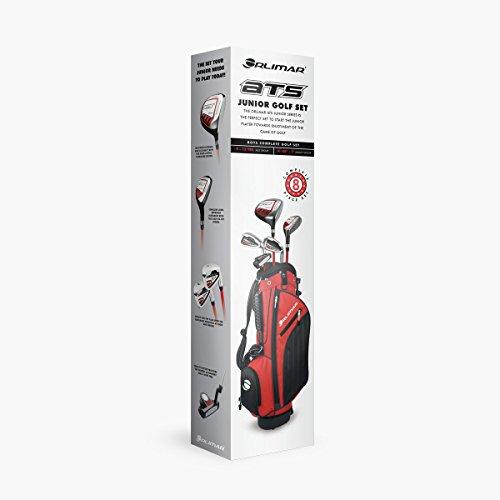 Orlimar Golf ATS Junior Boy's Red/Black Kids Golf Set (Right Hand Ages 9-12) (Red/Black)