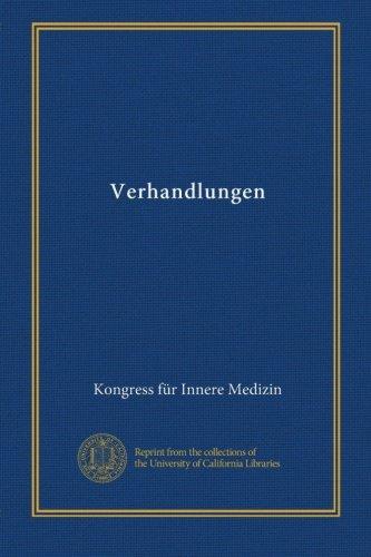 Download Verhandlungen (v.20 1902) (German Edition) pdf epub