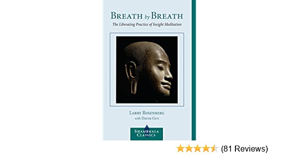 Breath by breath the liberating practice of insight meditation breath by breath the liberating practice of insight meditation shambhala classics kindle edition by larry rosenberg religion spirituality kindle fandeluxe Gallery