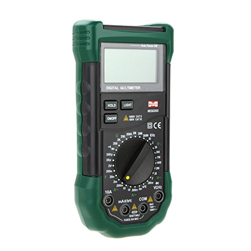 - DMM Digital Multimeters 20000 Counts LCD Backlight w/Frequency & Capacitance Test MASTECH MS8265