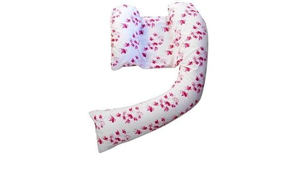 DreamGenii - Funda para cojín de lactancia, diseño de flores rosas: Amazon.es: Bebé