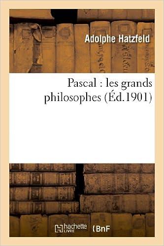Pascal les grands philosophes