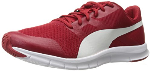 Mens Flexracer Fashion Sneaker, Barbados Cherry, 10 M US